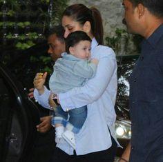 Sweet baby Taimur Ali Khan, Kareena Kapoor, Bollywood Actors, Hair Colour, Bridal Fashion, Indian Fashion, Cute Babies, Prayer, Childhood