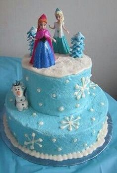 Order a Cake from a Local Bakery Frozen party cake Frozen party