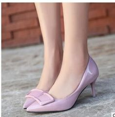 Pointed Heels (More Colors Available)