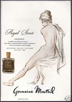 Germaine Monteil Royal Secret Vintage Perfume | The Non-Blonde