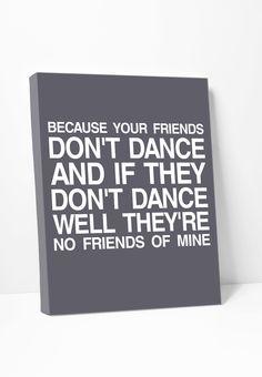 Canvas Print: Safety Dance