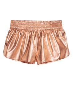 Korta shorts | Rose guld | Ladies | H&M SE