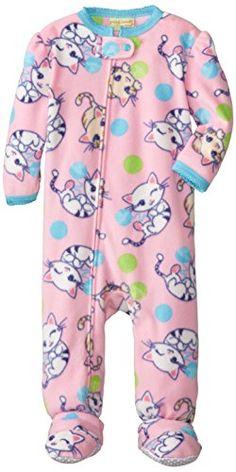 Peas and Carrots Kids Baby-Girls Infant Blanket Sleeper Micro Fleece Kittens, Pink, 18 Months Komar Kids http://www.amazon.com/dp/B00IKCSXHW/ref=cm_sw_r_pi_dp_6LnZub0XGAPWY