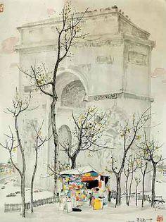 Wu Guanzhong (Chinees) - 1919-2010