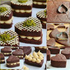 Bu pastacıklara bayılacaksınız. No Bake Desserts, Delicious Desserts, Mini Dessert Cups, German Baking, Turkish Recipes, Best Appetizers, Easy Cake Recipes, Chocolate Recipes, Food And Drink