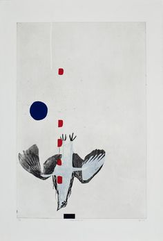 Marc Séguin Chronique d'automne 3 Eau-forte, pointe sèche, sérigraphie et relief, ed. 25 2001 112 x 76,5 cm Marc Seguin, Relief, Laurent, 2d, Collage, Illustration, Cards, Inspiration, Contemporary Paintings