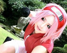 Sakura Haruno cosplay