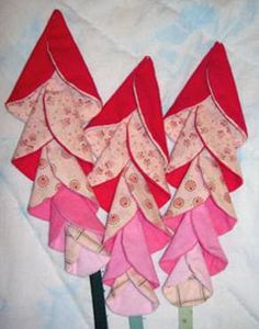 How to Quilt: Folded Flowers Wall hanging or Quilt