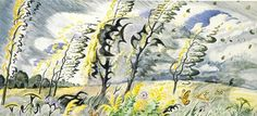 September Wind and Rain, 1949, Charles E. Burchfield