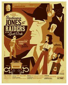 Indiana Jones: Raiders of the Lost Ark, dir. Steven Spielberg.