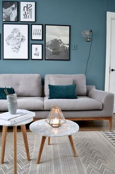 Accent Wall Ideas You'll Surely Wish to Try This &; Accent Wall Ideas You'll Surely Wish to Try This &; Décor Ideas Decor Design Accent Wall Ideas You'll Surely […] living room turquoise Living Room Turquoise, Teal Living Rooms, Accent Walls In Living Room, Living Room Photos, Living Room Color Schemes, Elegant Living Room, Living Room Paint, Living Room Grey, Living Room Designs