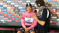 First Colombian to wear pink!-Giro d'Italia 2014 Stage Twelve.