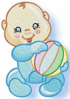 Cheeky Baby www.pamelasembroidery.com