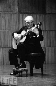 Andres Torres Segovia (1893-1987) I saw Andres perform at the CalArt's Perfomance Hall when he was 92 years old! He played like he was in his 20's. My classical instructor Richard Glenn from the University of California, Irvine took master classes with Segovia. Classical guitar is a beautiful, rewarding art form. It demands a certain …