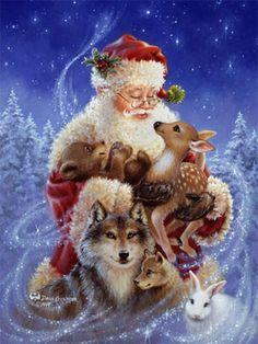 TheLightOfTheWorld · Santa's Little Friends- Dona Gelsinger    ellacommunication.com