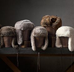 Luxe Faux Fur Russian Ushanka Hat, $35