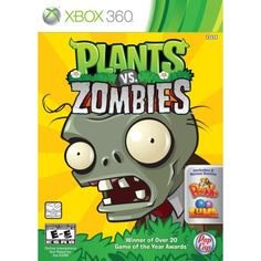 Plants vs Zombies for XBOX 360. A gift the whole family can enjoy. Heh.