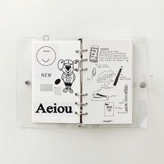 Binder, Bujo, Journals, Notebook, Bullet Journal, Journalling, Journal Ideas, Alice, Study
