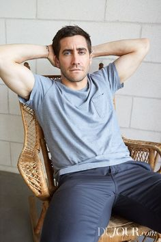 Jake Gyllenhaal, photographed by Juergen Teller for DuJour Magazine, Winter 2016.