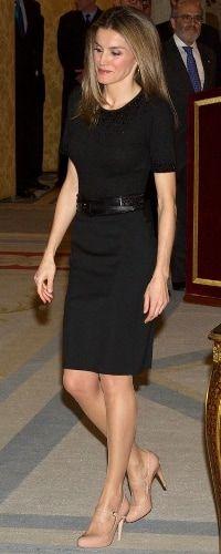 Doña Letizia at the National Sports Awards (2012).