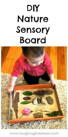 DIY Nature Sensory Board