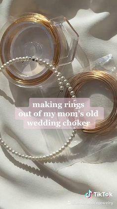 Diy Wire Jewelry Rings, Wire Jewelry Designs, Handmade Wire Jewelry, Diy Crafts Jewelry, Ring Crafts, Diy Rings, Handmade Rings, Cute Jewelry, Wire Wrapped Jewelry