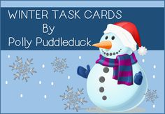 75 Winter Task Cards ...