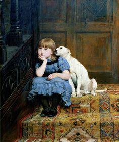 Briton Rivière (1840-1920) est un peintre irlandais.