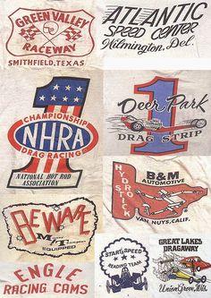 50's Drag Strip Graphics      Shawl Collar Sports Coat     Character Petrol Head Graphics        Bonneville Salt Flat Drag Racing