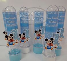 Tubete Mickey Baby Festa Mickey Baby, Disney Pictures, Gender Reveal, David, Ideas, Mickey Mouse Birthday, Disney Babies, Ideas Party, Fiesta Mickey Mouse