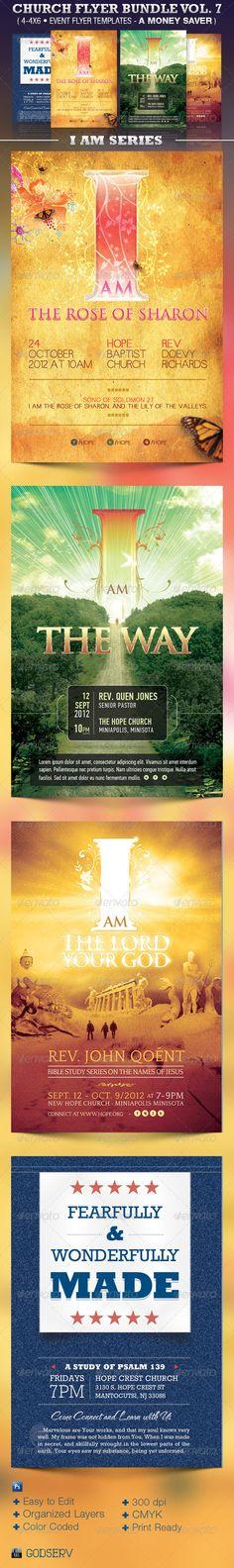 Cabaret Show Flyer Template Graphics Print Templates Pinterest - christian flyer templates
