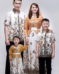 Batik Keluarga Kanaya Kuning