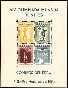 PERU - YVERT ** SOUVENIR SHEET 2