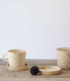 Timber cup and saucer. Mug. , wood turning, woodturning, lathe, inspiration, modern turning design, project, contemporary, jewellery