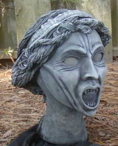 how to make a super creepy weeping angel costume for a doctor who fan. want, want, want. so bad. hey, @Julie Forrest Hardway... wanna help me?