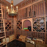 Residential wine rooms are increasing in popularity as a viable wine storage solution. Browse our residential wine rooms we've designed for inspiration. Wine Cellar Racks, Wine Rooms, Wine Storage, Storage Solutions, Room Ideas, Diy, Furniture, Design, Home Decor