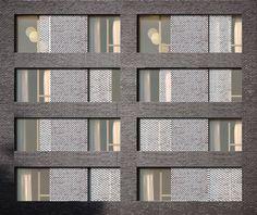 Construction d'une résidence sociale de 150 logements et un local d'activité. Maitrise d'ouvrage Adoma Maîtrise d'oeuvre Avenier Cornejo architectes (A. Binder, J. Leroy) | BET evp, B52, Bougon, Etamine, Saga Surface 4 000 m² (SDP) Labels HQE RT 2012