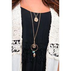 Druzy Layer Necklace