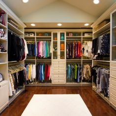 Amazing closet that feels like a high end boutique - traditional - Closet - Newark - Bella Systems
