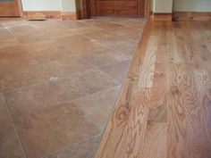 i love the transition from the wood to the laminate | home ideas