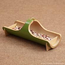 Le vent et le plateau de nourriture type bambou plateau de thé à la main panier contenant de haute qualité jardin débris paniers de rangement(China (Mainland))