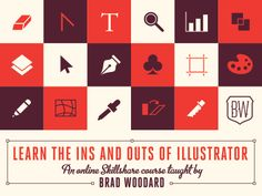 Ins and Outs of Illustrator Course by Brad Woodard