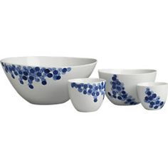 Rika 8 oz. Cup in Serving Bowls | Crate and Barrel