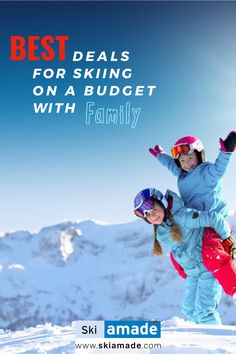 Enjoy your family holiday in Ski amadé! From 14 March 2020 to the end of the season Easter Bunny has prepared a special package for families in Ski amadé. Family Ski, Family Holiday, Your Family, Easter Bunny, Skiing, Families, March, Seasons, Best Deals