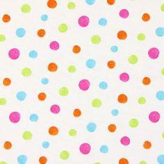 Dot Cretonne 1 - Baumwolle - Farbmix