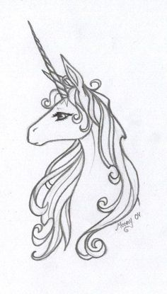 the only unicorn tattoo i would ever consider