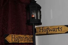 ** similar to street lamp in between train and brick wall accent**  Kids, Crafts, and Craziness: The Harry Potter Room