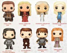 Game of Thrones Series 4 Funko POP Vinyls Figures