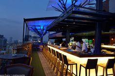 Above Eleven- Rooftop Bar & Restaurant- Bangkok