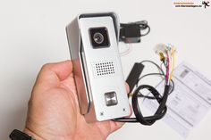 IP-Türsprechanlage DVA-110DOOR von Monacor im Test. Wie leistet eine…